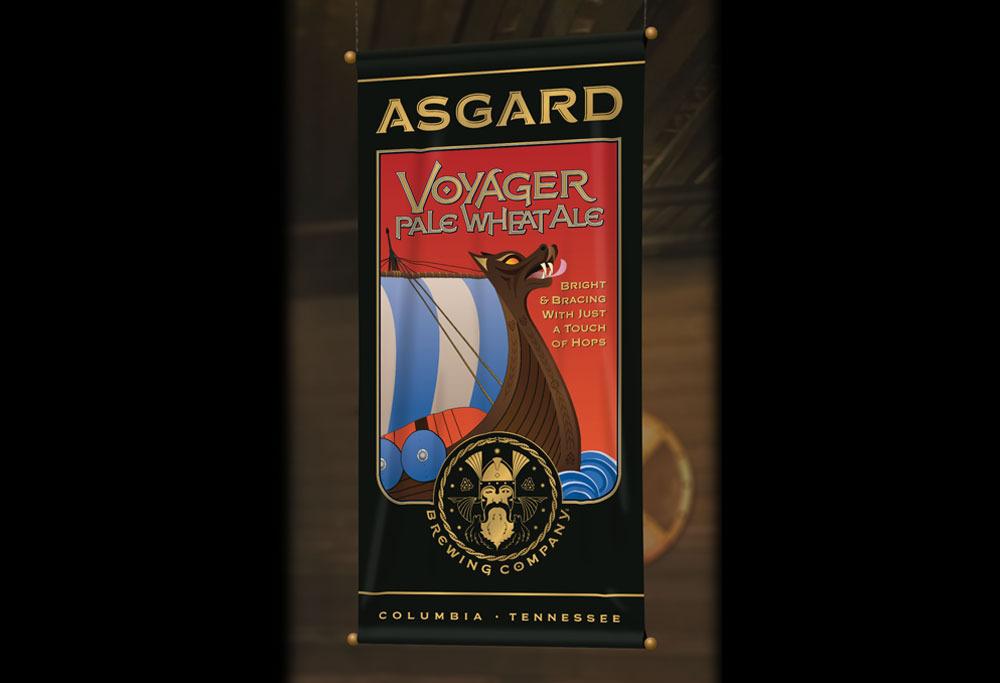 Banner for Asgard's Voyager Pale Wheat Ale