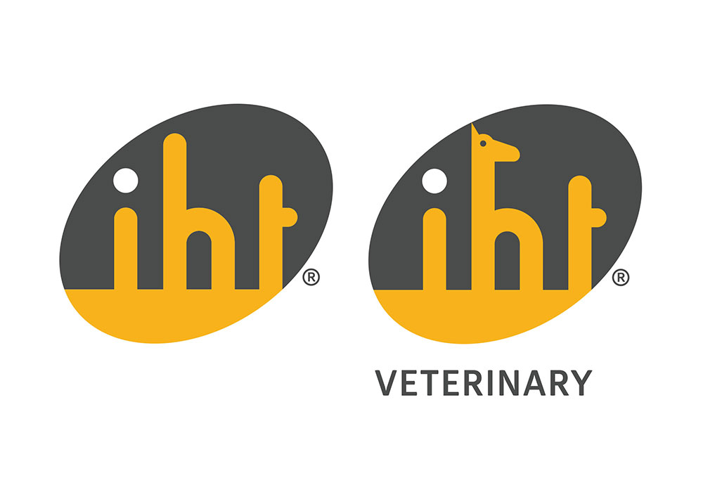 IHT log and veterinary logo variation