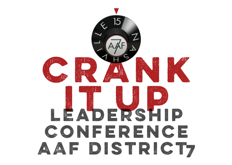 Logo for Crank It Up - Leadership Conference, AAF District 7