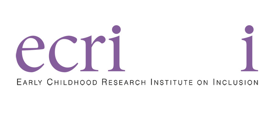 Logo for ECRII - Early Childhood Research Institute on Inclusion
